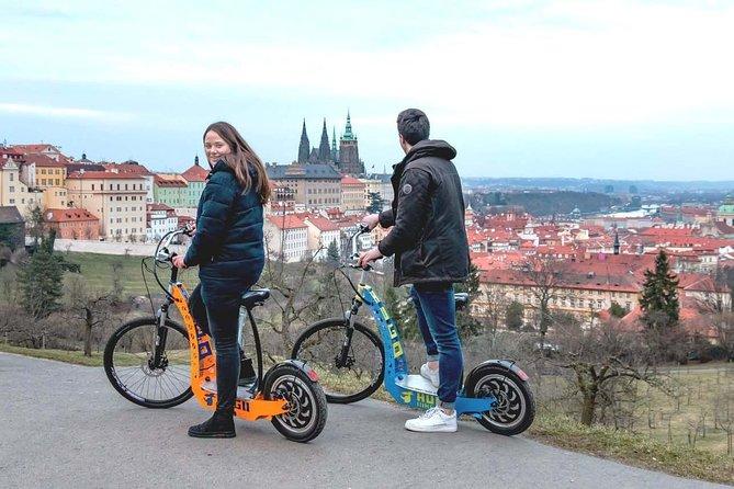 Private Magical Prague City Tour 60-min by e-Bike / e-Scooter