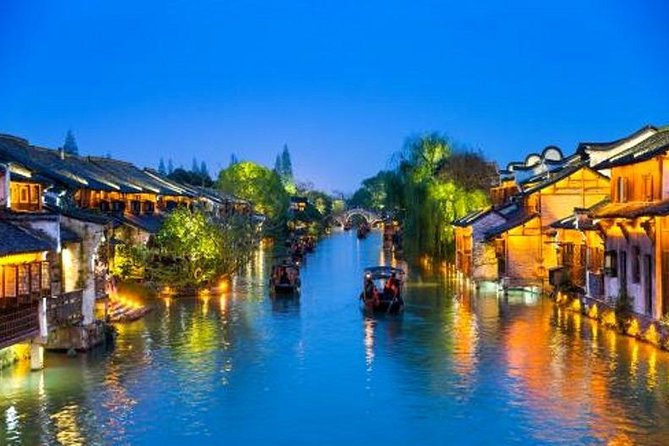Wuzhen Water Town Self-Guided Tour with Private Transfer from Hangzhou