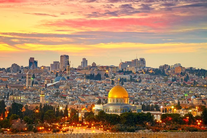 1-Night Private Jerusalem and Bethlehem Tour from Ammanm