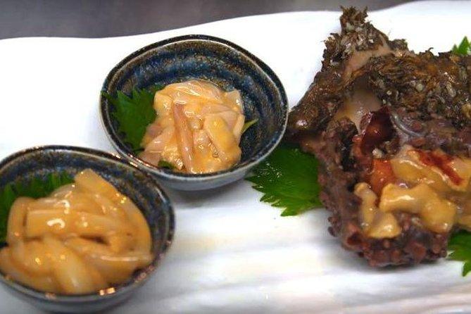 Fermented Squid, Snacks & Sake Tasting with Sake Sommelier
