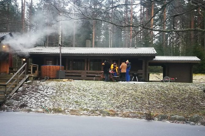 Helsinki Private Sauna Tour to National Park