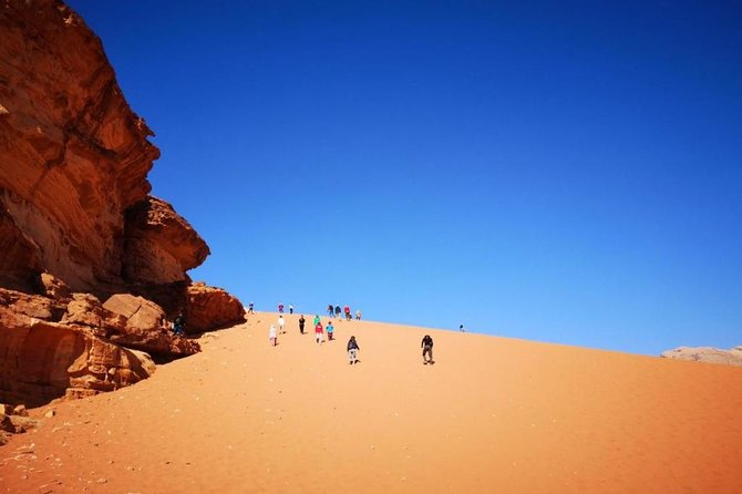 Jordan Horizons Tours : 03 Hrs Jeep tour in Wadi Rum