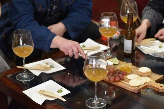 Sommelier-Guided Craft Beer and Regional Food Pairing