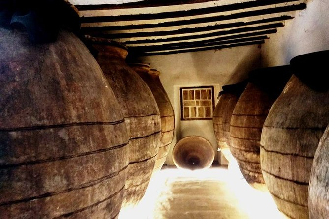 Visit a centenary winery and lunch in a typical restaurant in Chinchón (Madrid)