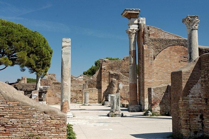 Ancient Ostia Ruins and Ostia Beach Shore Excursion from Civitavecchia Port