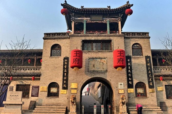 Private Zhangbi Castle Shuanglin Temple and Wang Compound Tour