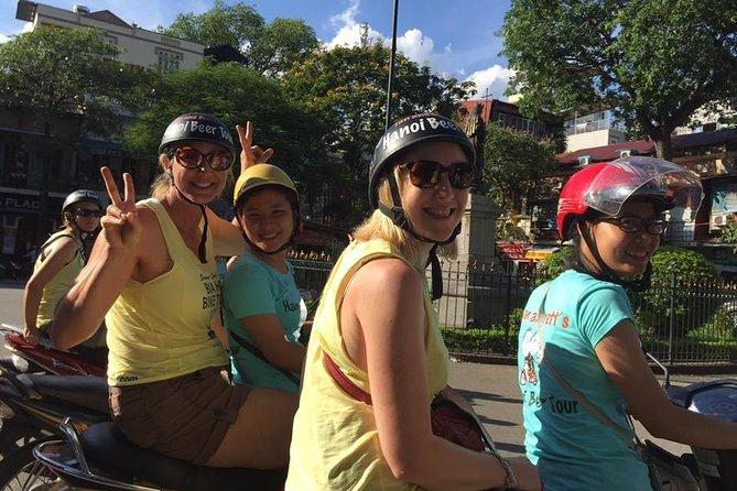 Cuisine tour: beer, Street foods, Traditional foods, Walking, Motorbike