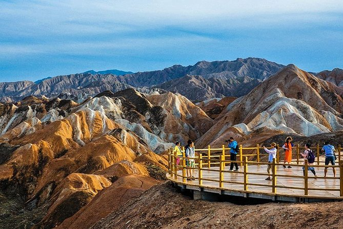 Full-Day Zhangye Private Tour from Jiayuguan with Lunch