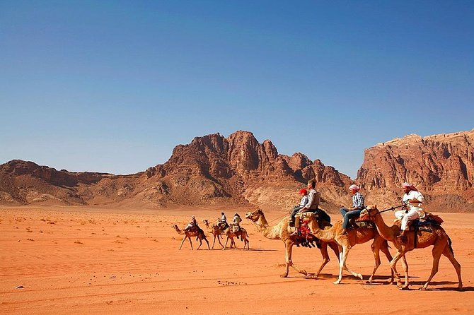 2 Days Private Tour to Wadi Rum and Petra from Eilbat