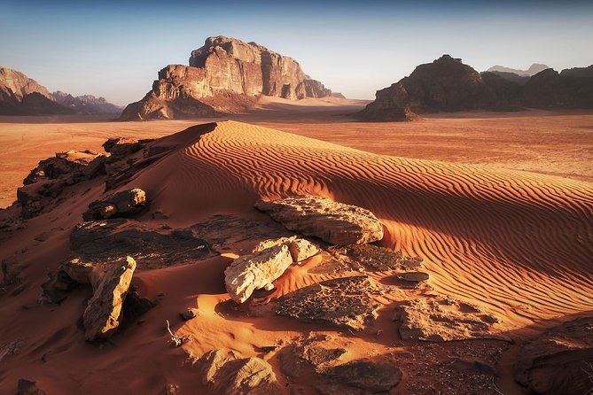 3 Days Private Wadi Rum Experience with Petra from Eilat