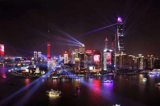 Shanghai Private Night Tour with Dim Sum Dinner