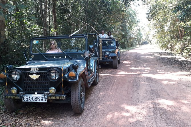 2. Discovery the north of Phu Quoc island by private old US Army Jeeps