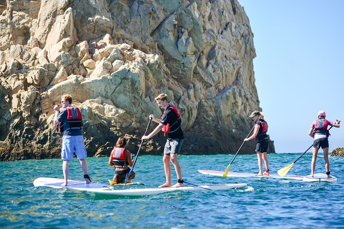 Private Paddleboard and snorkel at the arch