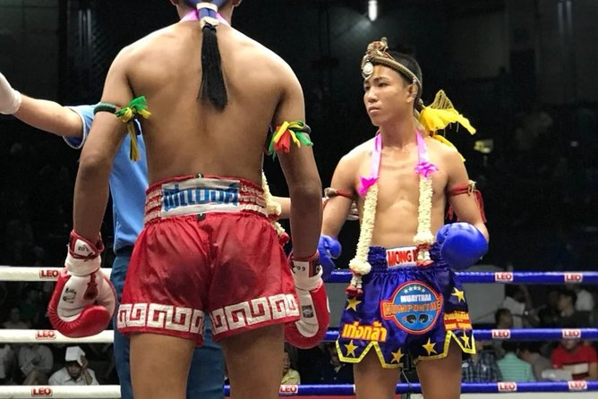 Muay Thai Boxing Show with Ringside Seats at Rajadamnern Stadium