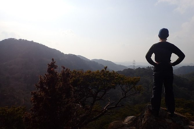 Exercise at Seto Inland Sea National Park, 1 day hiking on Mt. Rokko
