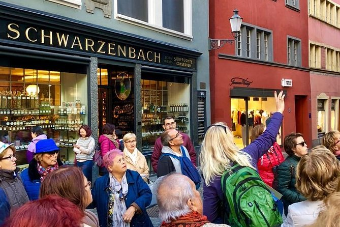Walking tour of Zurich - your first overview of the city (Private Tour)