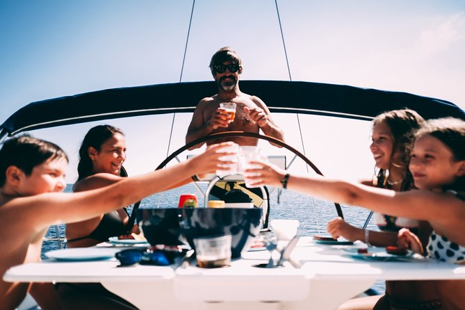 4h Sailing, Swimming and Sunbathing! PRIVATE TOUR