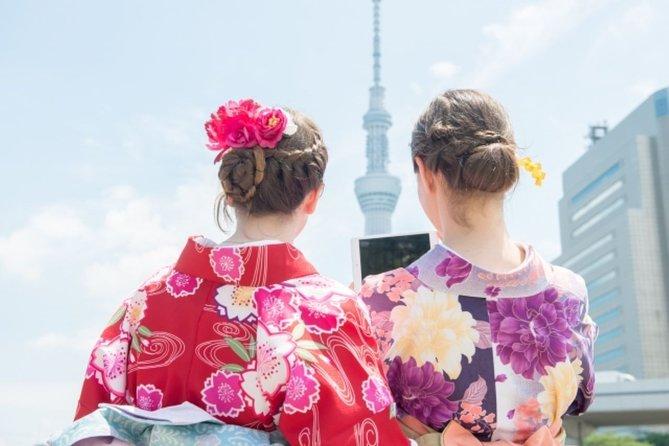 Tokyo Private One Day Kimono Tour