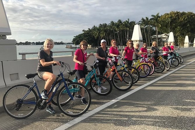 The Famous South Beach Bicycle Tour.