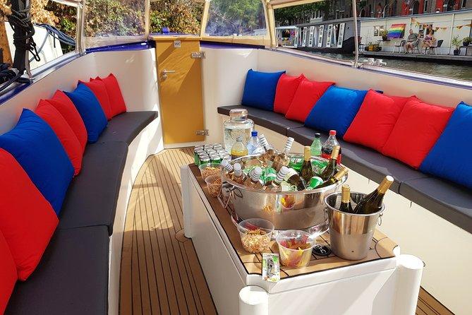 Private Amsterdam Booze Boat