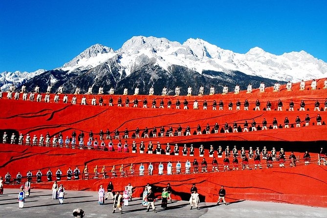 Lijiang Private Day Tour: Jade Dragon Snow Mountain and Impression Lijiang Show