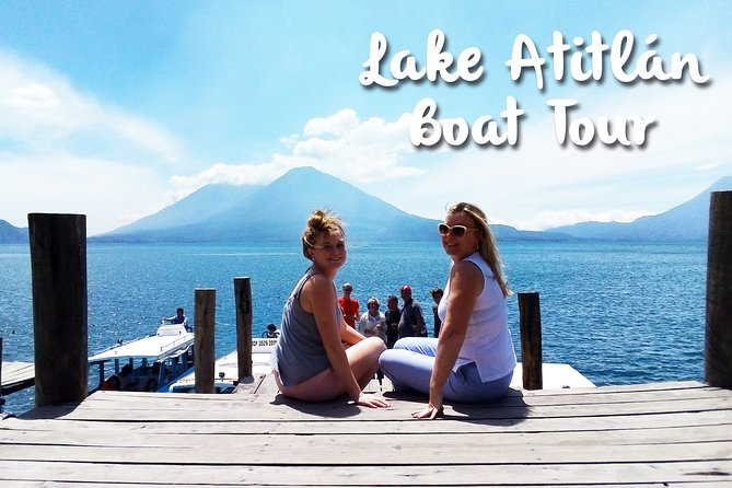 Lake Atitlan, Panajachel and Santiago Village Day Trip by Boat from Guatemala City