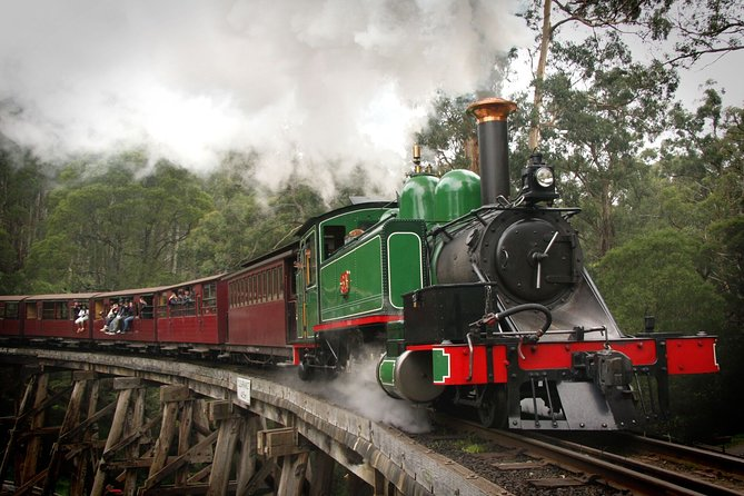 Puffing Billy, Wildlife Sanctuary & Penguins Day Tour from Melbourne