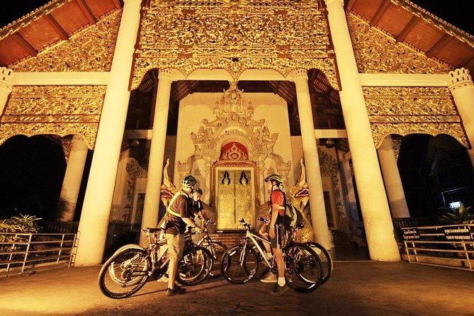 Cycling through Chiang Mai at Sunset