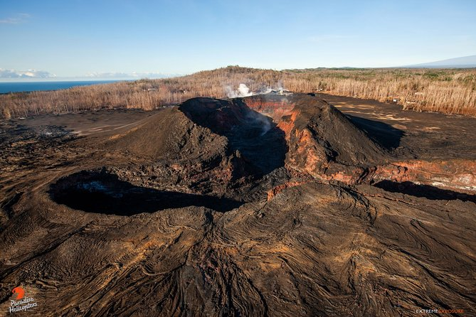 Helicopter Lava and Rainforests Adventure from Hilo