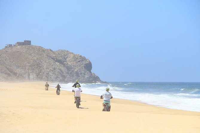 Electric Bike Beach Adventure and Eco Farm from Cabo San Lucas