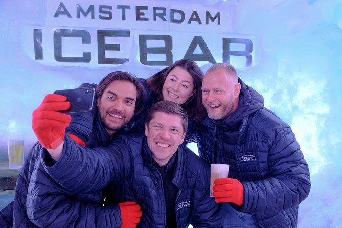 Xtracold Icebar Amsterdam and 1-Hour Canal Cruise