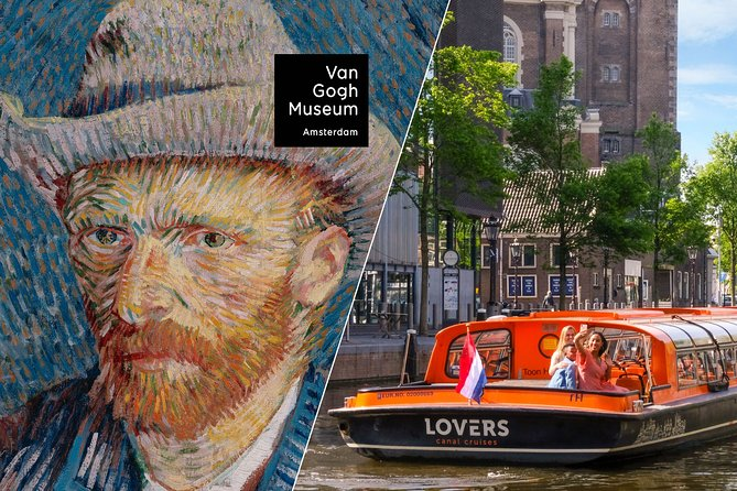Amsterdam Combo: Van Gogh Museum & 1-Hour Canal Cruise