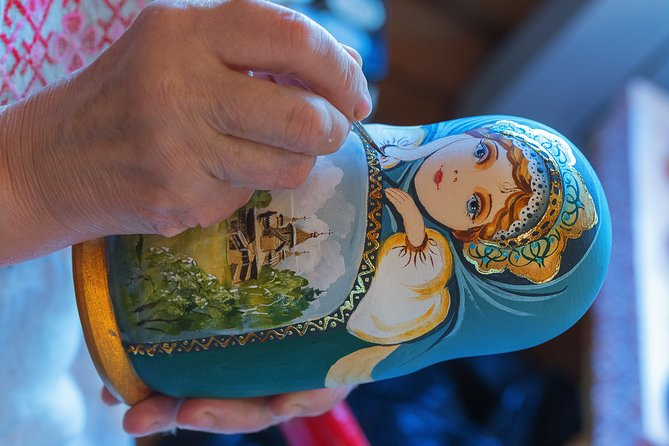 St. Petersburg: Russian Matryoshka Painting Workshop