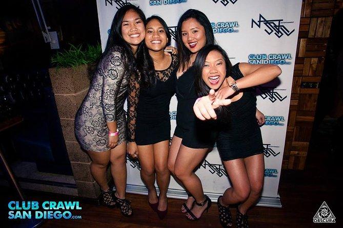 San Diego Club Crawl - Nightlife Party Tour