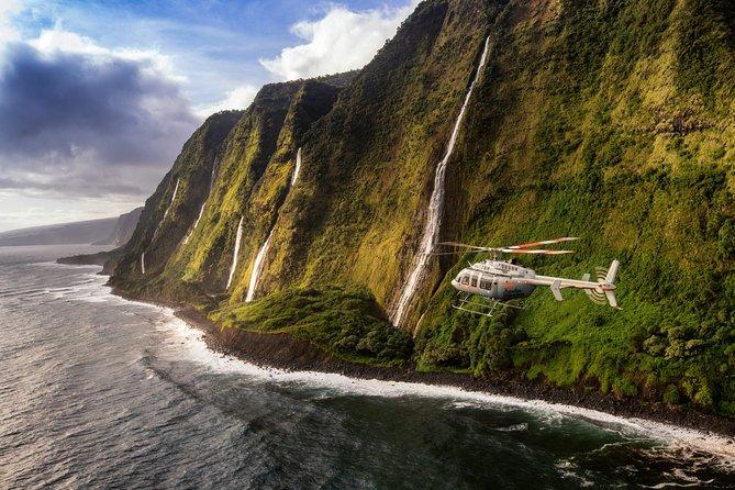 Volcano and Kohala Landing Helicopter Tour on the Big Island