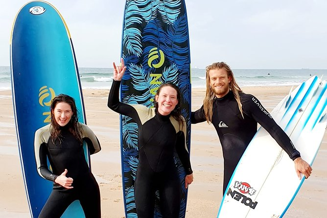 Small-Group Surf Lessons at Praia do Guincho