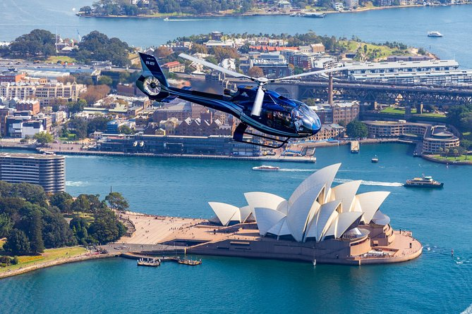 Sydney Beaches Tour by Helicopter