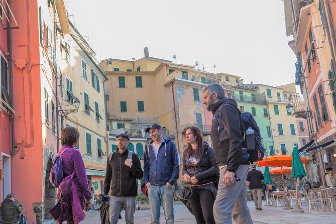 Cinqueterre Private Shore Excursion from La Spezia with Top Guide & Wine Tasting
