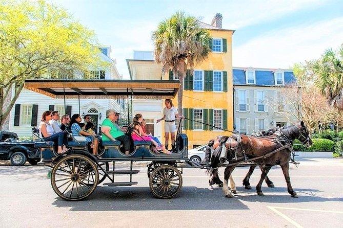 Daytime Horse-Drawn Carriage Sightseeing Tour of Historic Charleston
