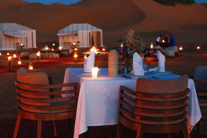 From Marrakech: Magical Dinner In Agafay Desert Under the Stars