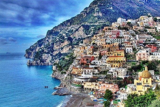 Sorrento-Positano-Amalfi Combined Tour