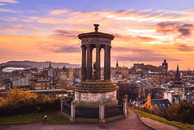 Greenock – Edinburgh Private city tour included lunch