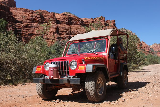 Private Red Rock Panoramic Jeep Tour of Sedona