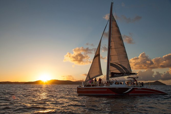 St. John Champagne Sunset Sail with Open Bar & Hors D'oeuvres - Westin