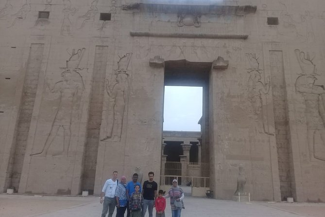 private guided tour to dendara temple&sailing Nile felucca&banana island.luxor