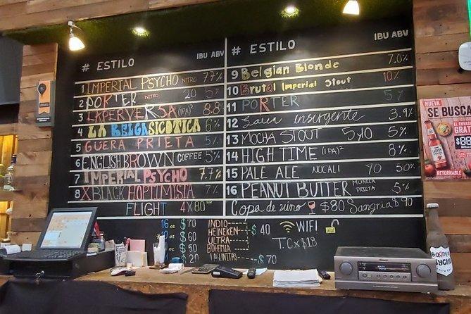 Baja Craft Beer Tasting