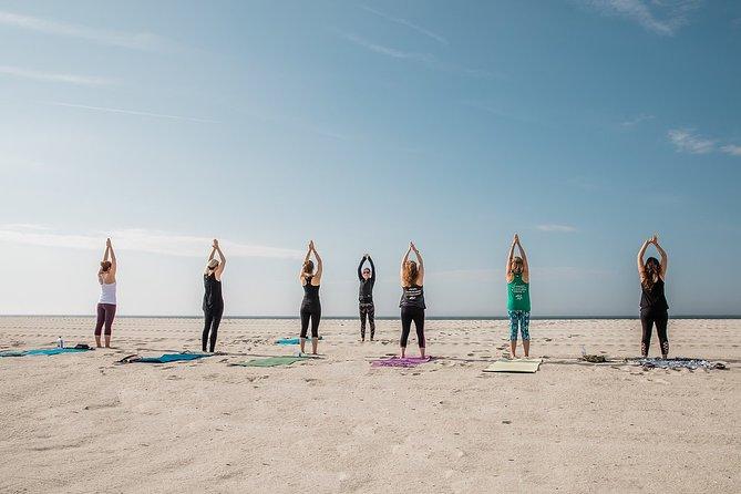 Beach Yoga Class in Cape May