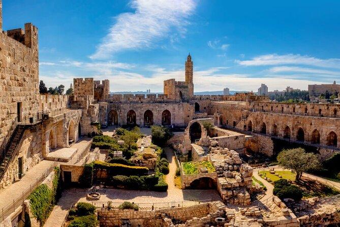 City of David and Underground Jerusalem Day Trip from Tel Aviv