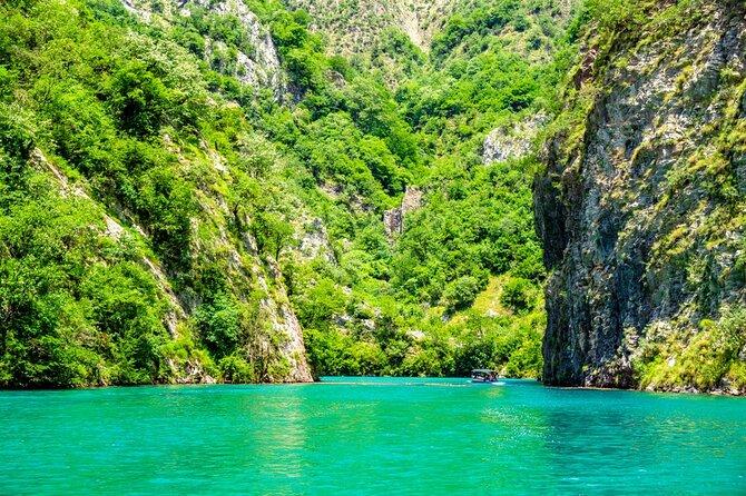 One day tour from Shkodra to Koman lake, visit of Shala river and Lezha