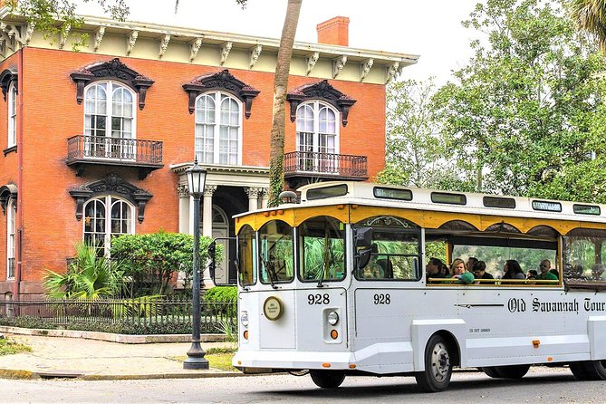 Narrated Historic Savannah Sightseeing Trolley Tour
